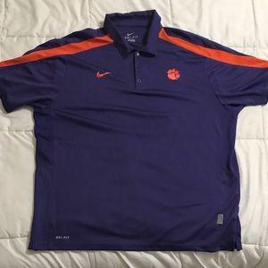 Nike Clemson Dri-Fit Polo Shirt